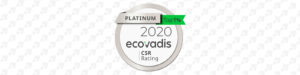 DEUTERON GmbH erreicht auf der Ecovadis Plattform das Platin Ranking im Bereich CSR (Corporate Social Responsibility).
